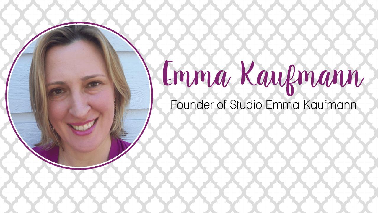 Mompreneur Interview Emma Kaufman founder of Studio Emma Kaufmann