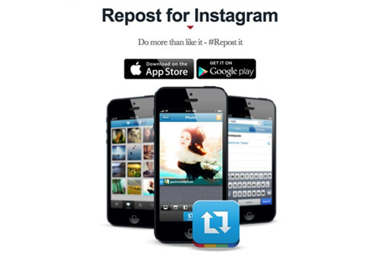 how to use repost for instagram