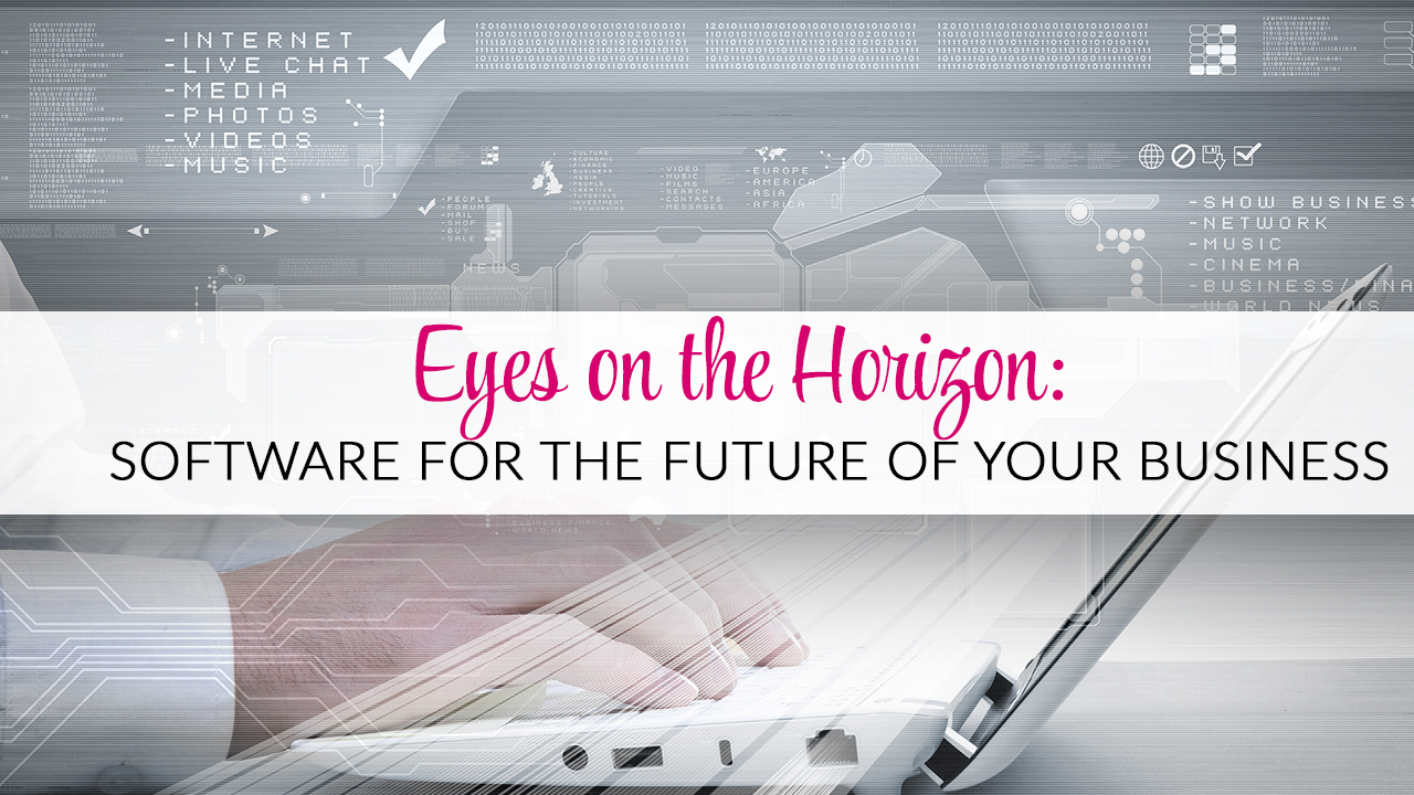 Eyes on the Horizon: Software for the Future of your Business