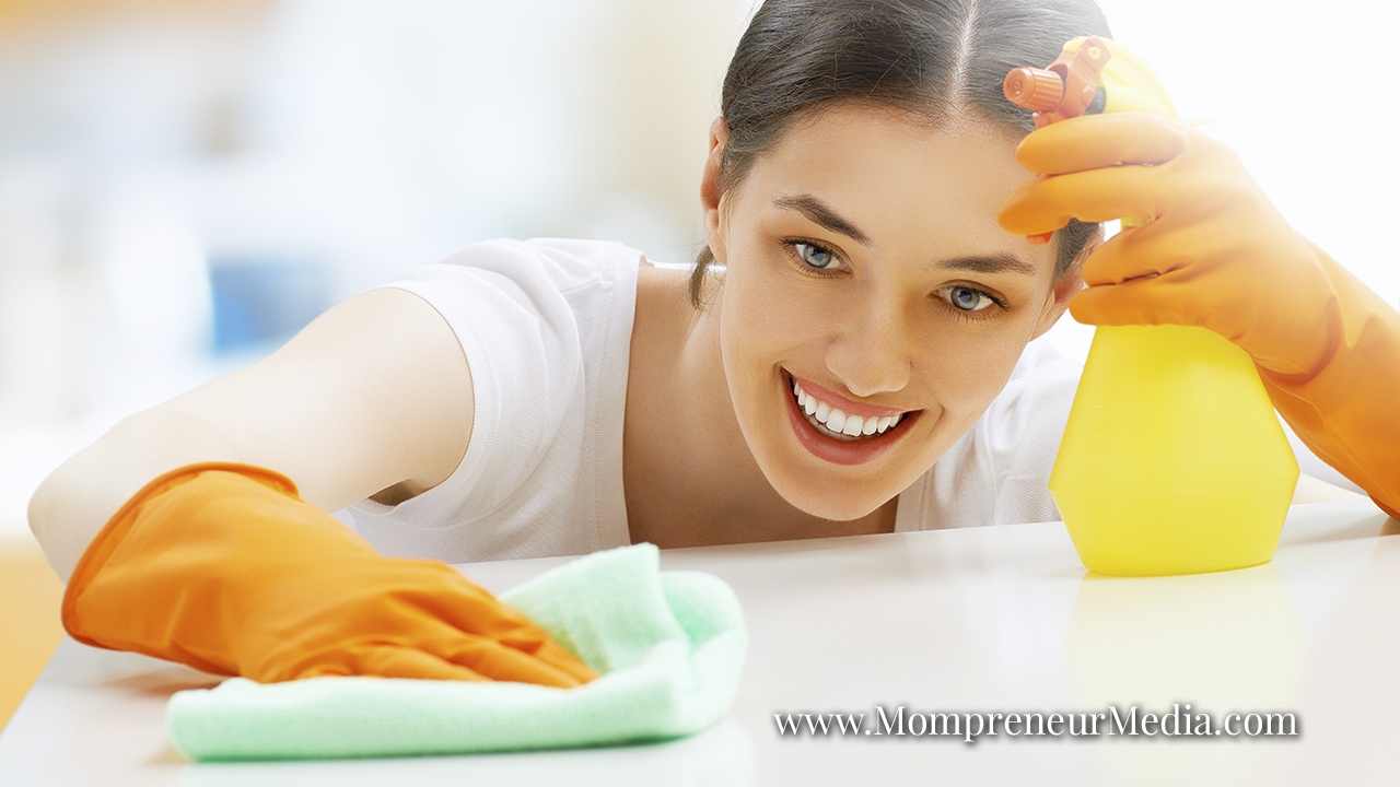 How busy mom entrepreneurs can benefit from cleaning services