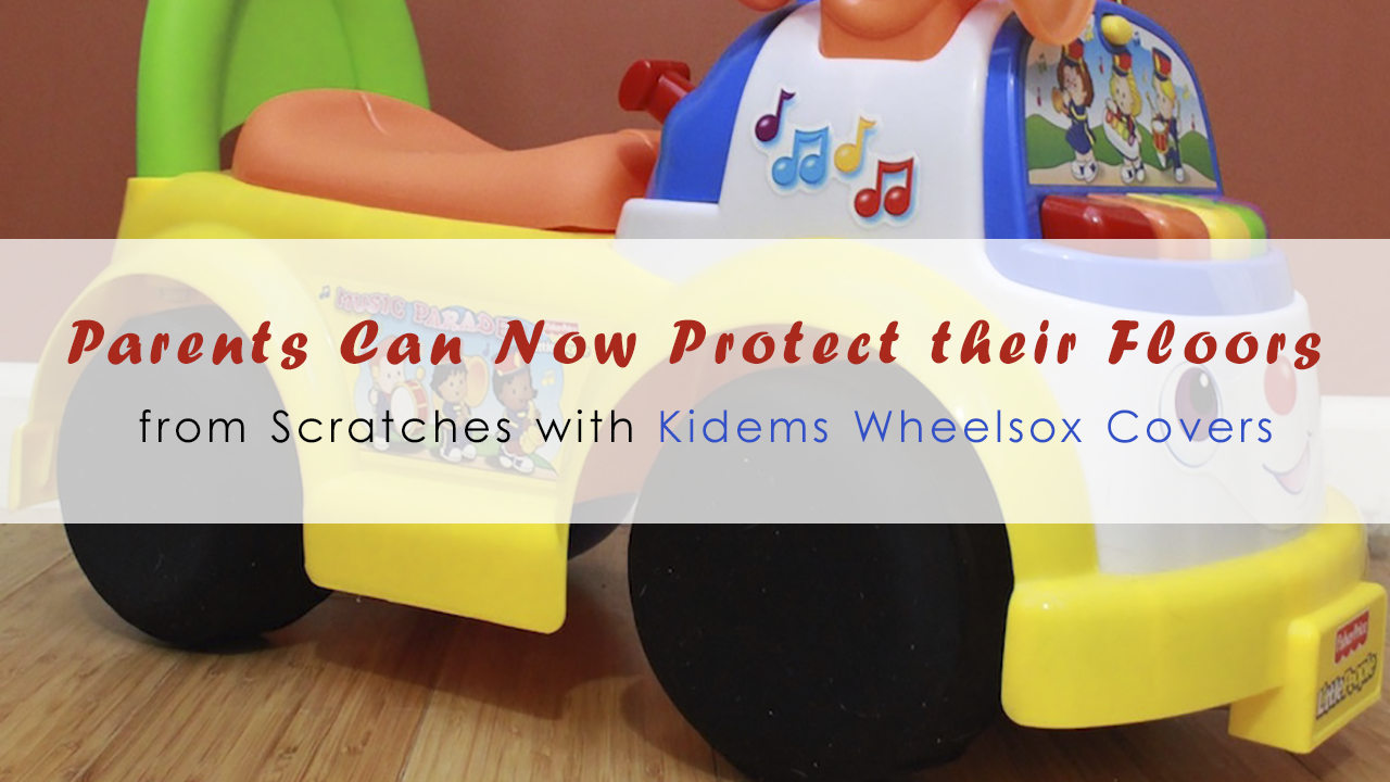Parents Can Now Protect Their Floors from Scratches with Kidems Wheelsox Covers