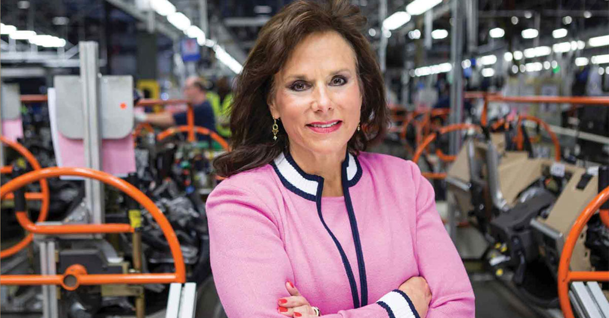 The Most Influential Woman In Trucking