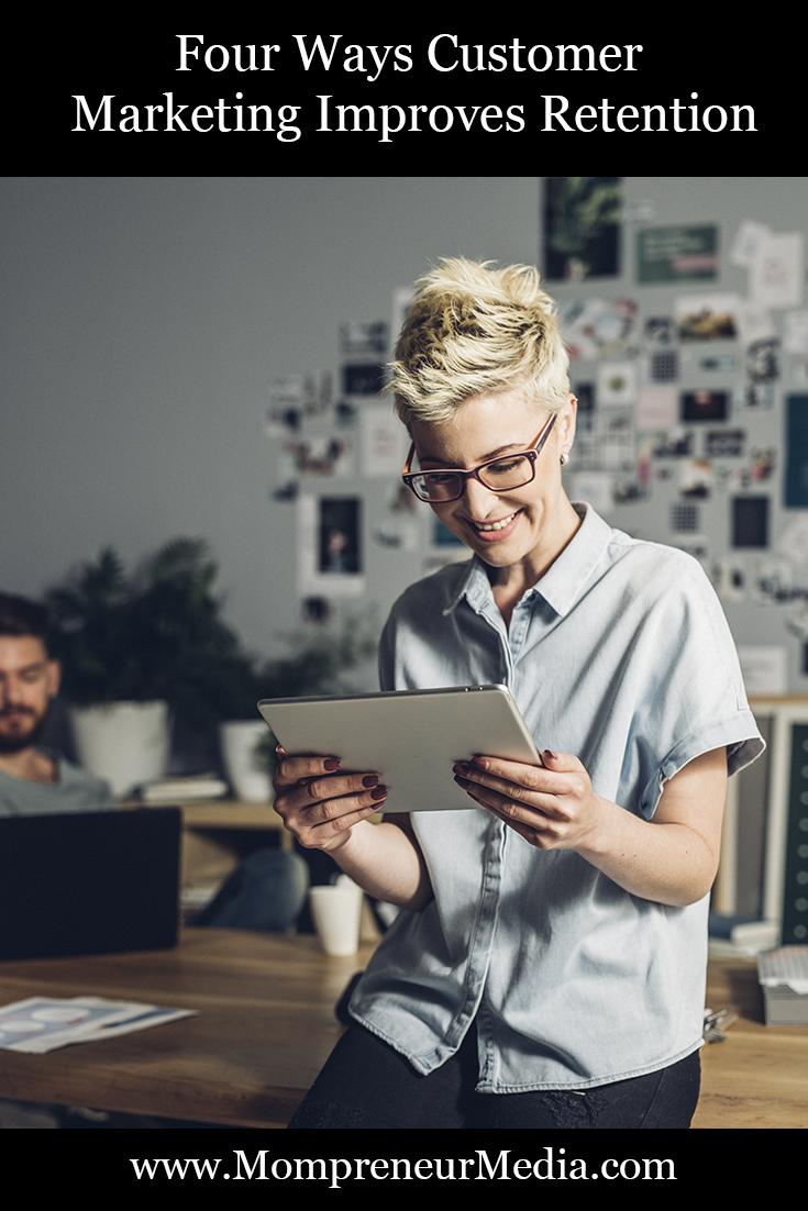 Four Ways Customer Marketing Improves Retention #Customer #Marketing #Retention  Here are some ways in which customer marketing can enhance customers' retention.